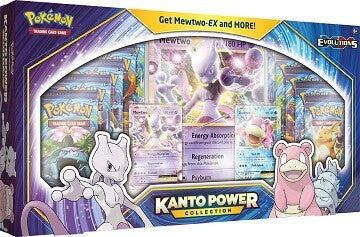 Pokemon TCG: Kanto Power Collection Mewtwo EX and Slowbro EX (1 box) | LINEBREAKERS CA