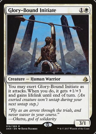 Glory-Bound Initiate [Amonkhet] | LINEBREAKERS CA