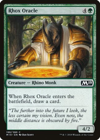 Rhox Oracle [Core Set 2019] | LINEBREAKERS CA