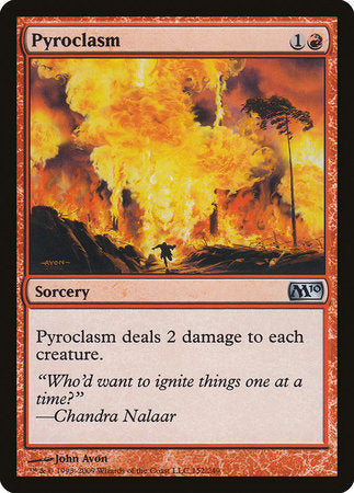 Pyroclasm [Magic 2010] | LINEBREAKERS CA