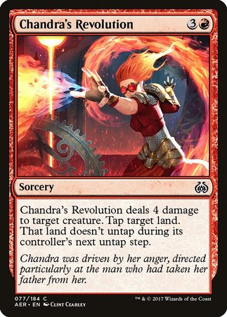 Chandra's Revolution [Aether Revolt] | LINEBREAKERS CA