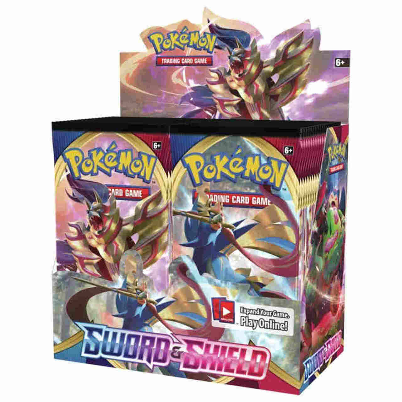 Pokemon TCG: Sword & Shield - Booster Display (36) | LINEBREAKERS CA