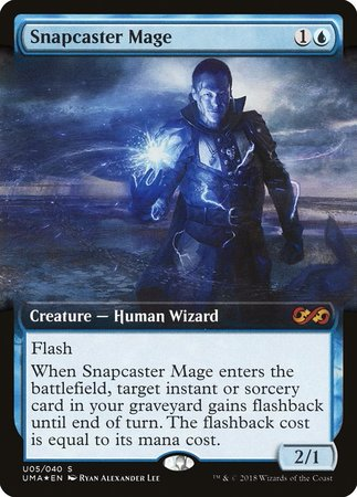 Snapcaster Mage [Ultimate Box Topper] | LINEBREAKERS CA