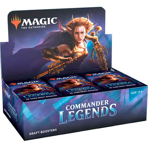 Magic the Gathering: Commander Legends - Draft Booster Box | LINEBREAKERS CA