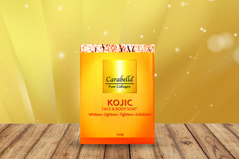 Pure Collagen Soap with Kojic Acid 150 grams