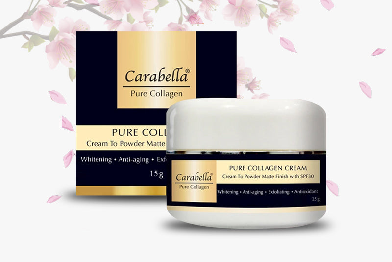 Pure Collagen Cream to Powder Matte Finish with SPF30 15 grams