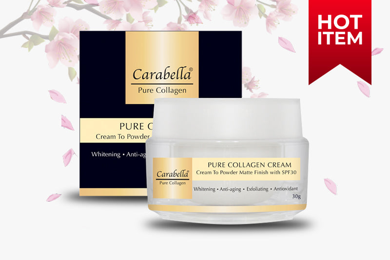 Pure Collagen Cream to Powder Matte Finish with SPF30 30 grams