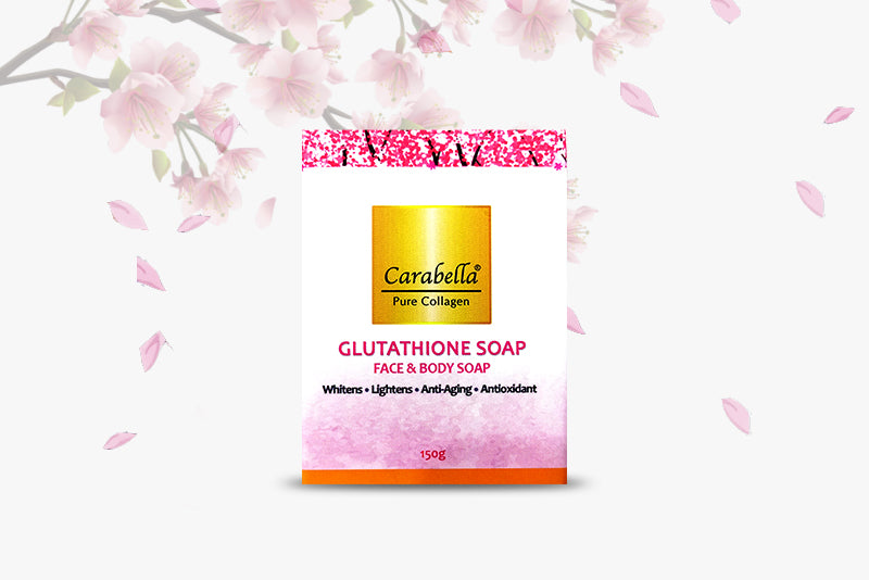 Pure Collagen Soap with Glutathione 150 grams