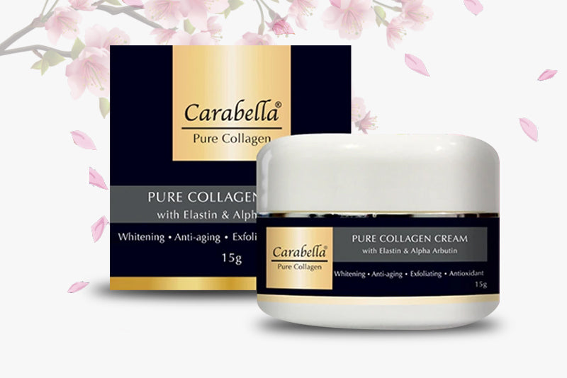 Pure Collagen Night Cream with Elastin & Alpha Arbutin 15grams