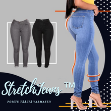 Laden Sie das Bild in den Galerie-Viewer, STRETCH JEANS™(2 + 1 ILMAINEN),..