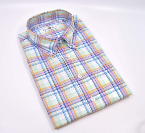 Alan Paine Men's Dress Shirts Fleetwood Classic Fit Button Down Shirt - Multi