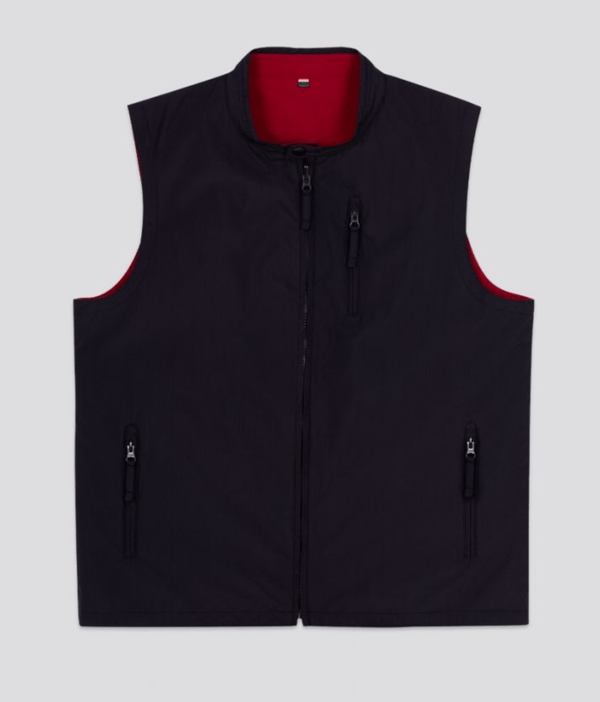 Alan Paine Men's Vest Alan Paine Reversible Lettoch Gilet