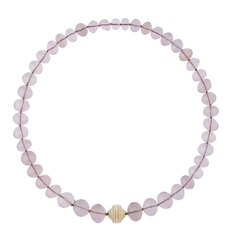 Clara Williams Necklaces Rose quartz necklace from Clara Williams