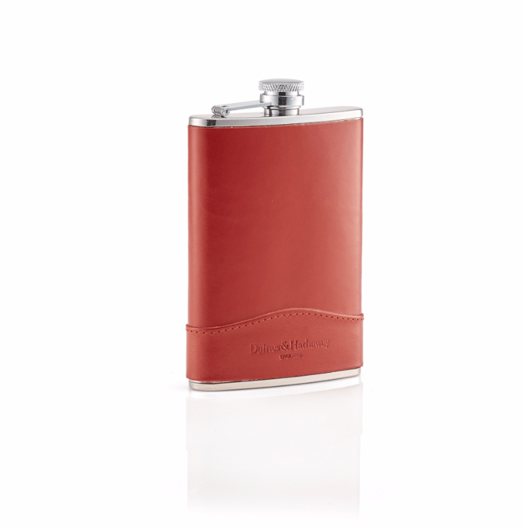 Daines & Hathaway Men's Accessories 8 oz Hip Flask with Collar