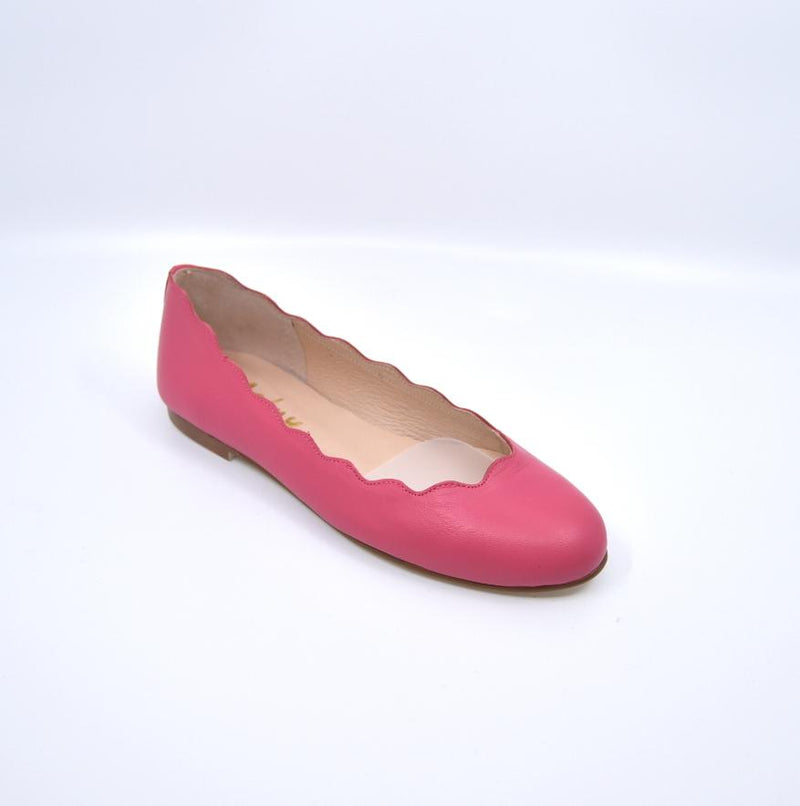 French Sole Women's Shoes FSNY Jigsaw Napa Fuschia