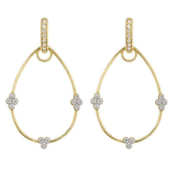 Jude Frances Earring Charms Simple Provence Pear Earring Charm Frames