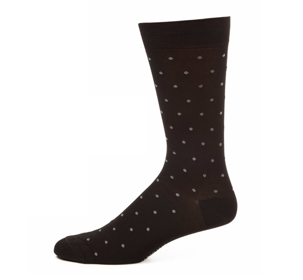 Marcoliani Men's Socks Marcoliani Polka Dot Cotton Socks Mid Calf