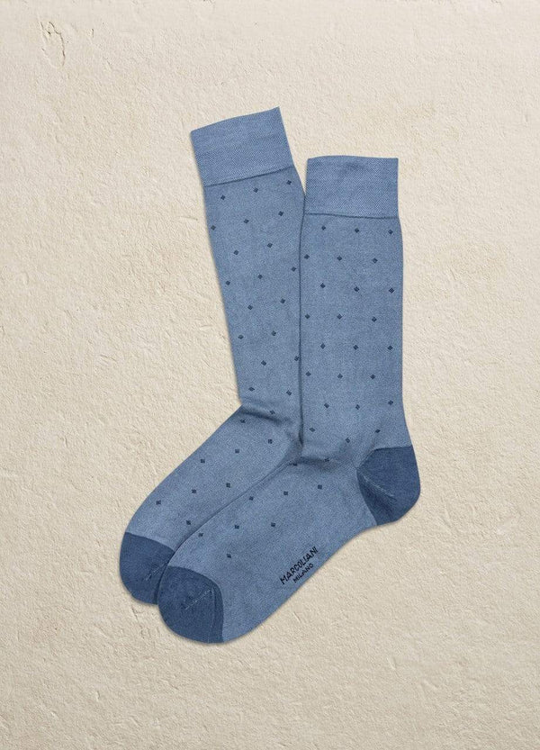 Marcoliani Men's Socks Micro Diamond Modal Socks
