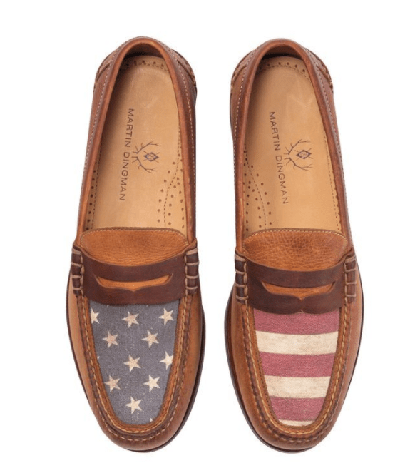 Martin Dingman Men's Shoes All American Penny Loafer