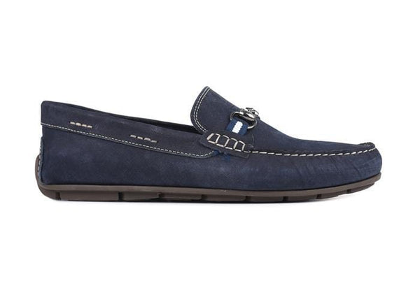 Martin Dingman Men's Shoes Bermuda Horse Bit - Navy