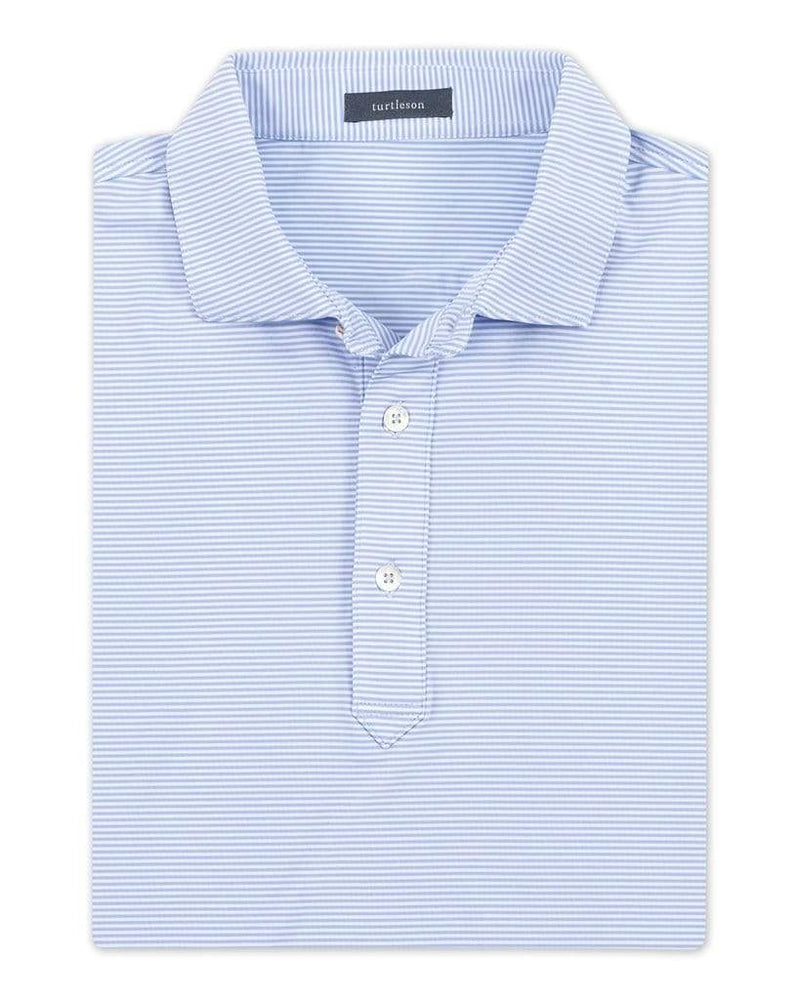 Planters Exchange Carter Stripe Performance Polo