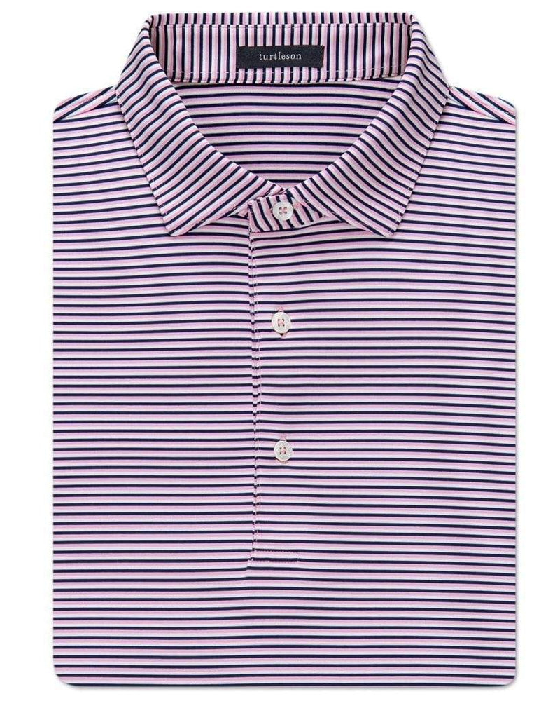 Planters Exchange Conner Stripe Performance Polo