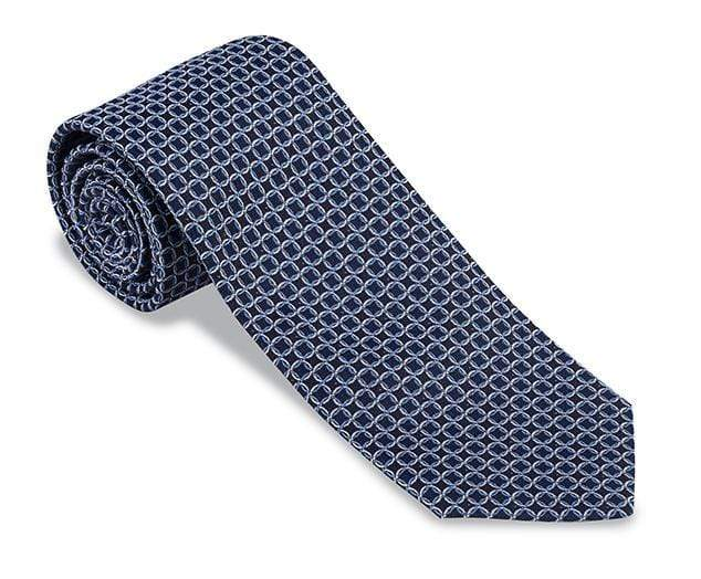 R. Hanauer Men's Necktie Palisade Links Necktie