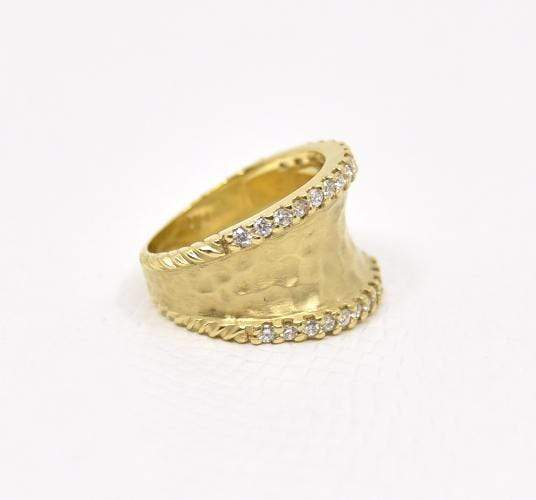 Raymond Mazza Rings 14K Ring with .64 cts Diamonds