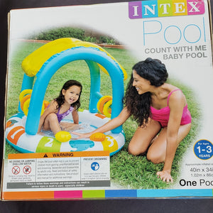NEW Count with Me Baby Pool by Intex