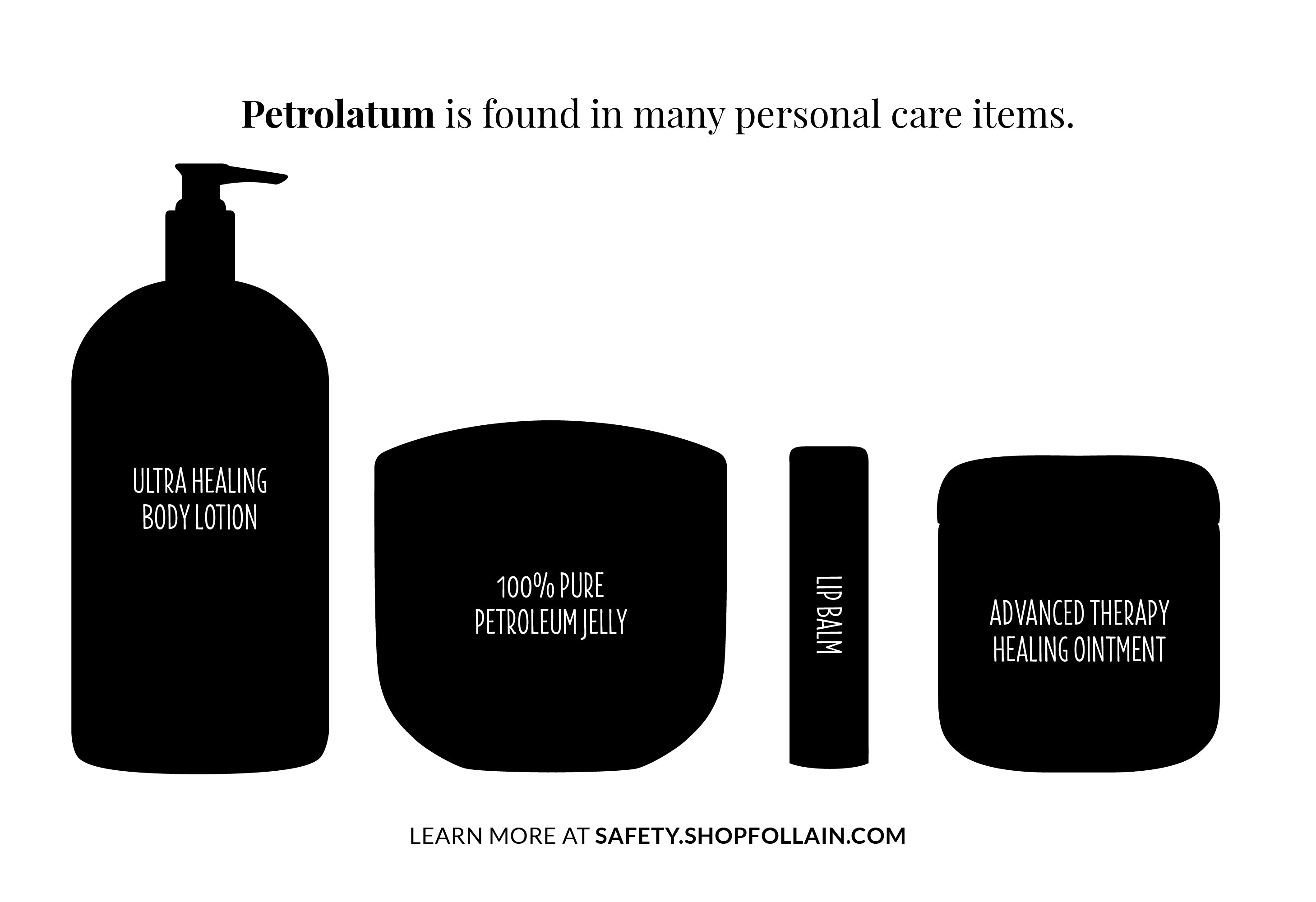 Follain Restricted Substance Petrolatum or Petroleum