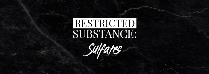 Follain Restricted Substance: Sulfates