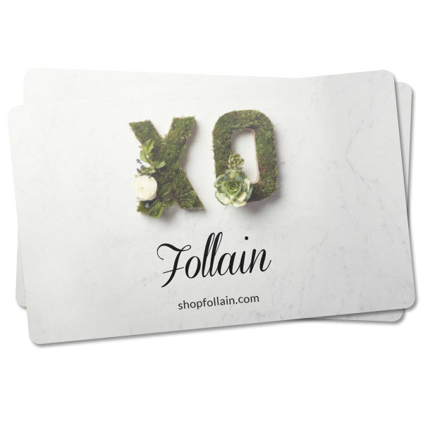 Follain Gift Card (in-store use only)
