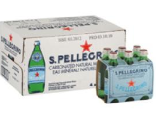 SAN PELLEGRINO WATER MINERAL GLASS (24/250ML)