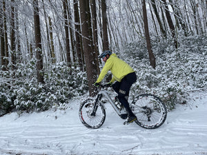 Top Tips For Snowy Cycling (Without Falling Off)
