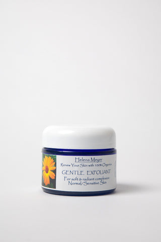 Calendula Skin Care: Step 2: Calendula Gentle Exfoliant