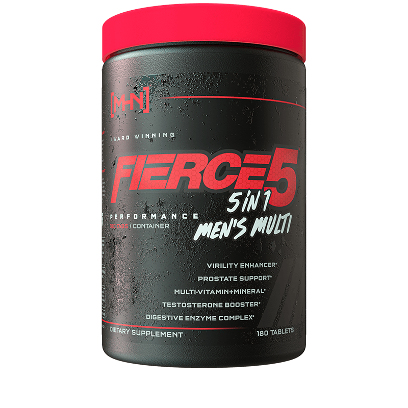 FIERCE 5 Men's Multivitamin - ModernHardcore.com
