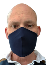 Load image into Gallery viewer, Denim Blue - Bandana Face Mask