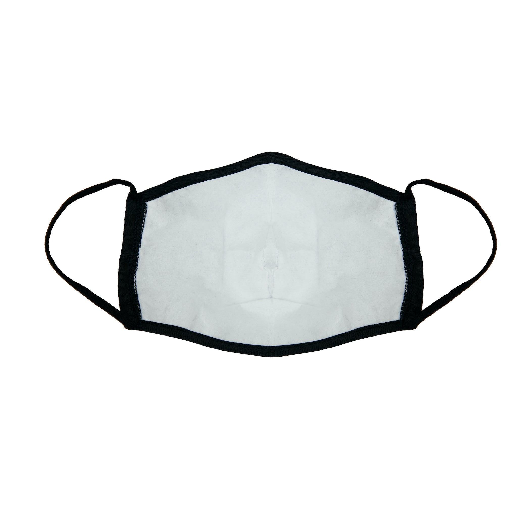Wrapture Masks Black Face Mask made of electrostatic non-woven polypropylene fiber