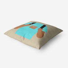 Load image into Gallery viewer, Backpacker Premium Hypoallergenic Throw Pillow