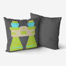 Load image into Gallery viewer, Modern Camper Binoculars   Premium Hypoallergenic Throw Pillow