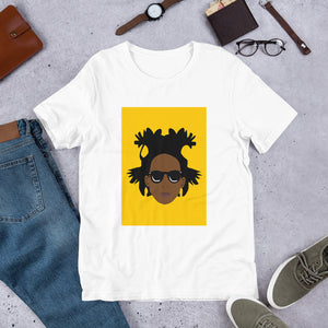 Vivid Basquiat Short-Sleeve Unisex T-Shirt