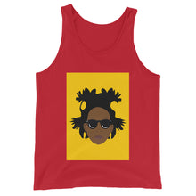 Load image into Gallery viewer, Basquiat Unisex Tank Top