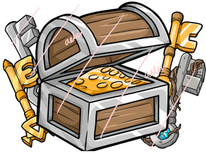 15 Buycraft Icons - Keys and Chests - ReadyArtShop