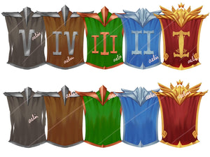 21 Icon Launch Pack - Ranks, Tiers, Potions and Items - ReadyArtShop Store Icons