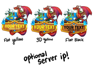 3D Dragon Earth RPG Game Logo Maker - ReadyArtShop Logos