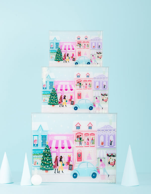 Christmas Large Acrylic Box
