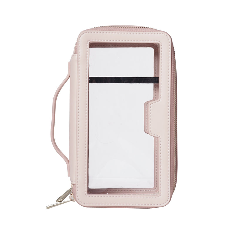 Clear Travel Case | Pink