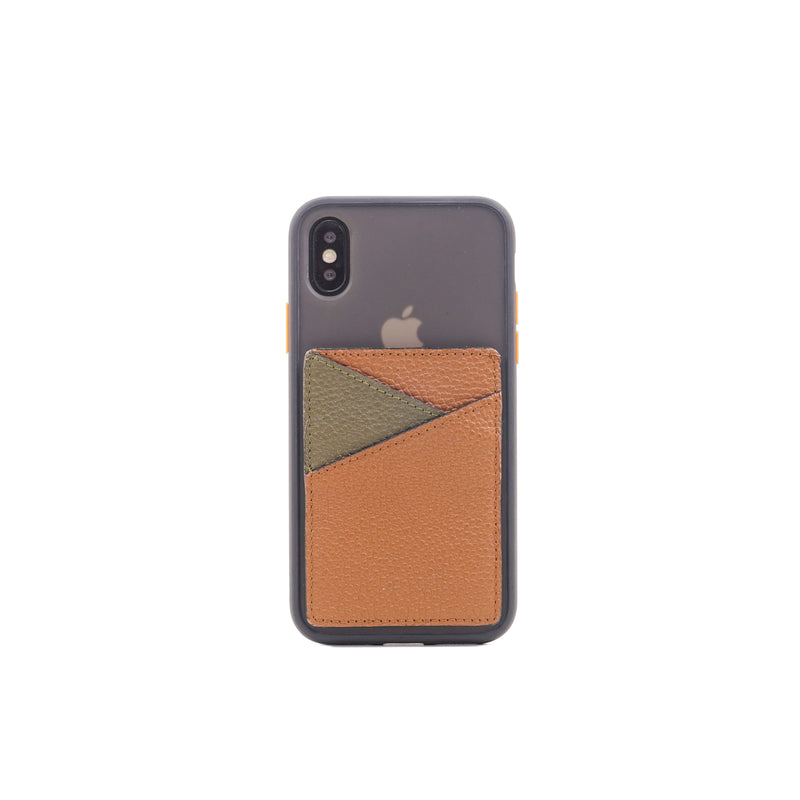 Card Pocket Sticker | Brown-Taupe