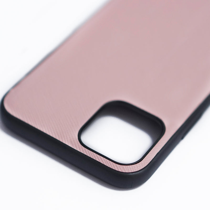 iPhone Cross Full Leather Case | Pink