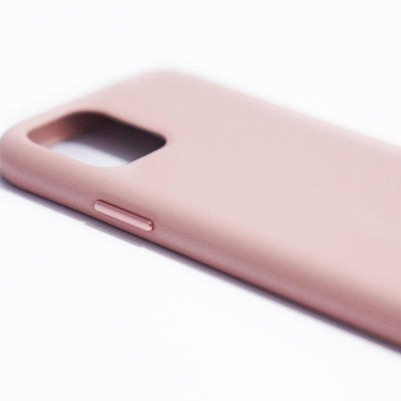 iPhone Smooth Full Leather Case | Dusty Rose